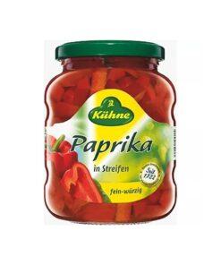 Paprika bucatele usor picante 370 ml, Kuhne