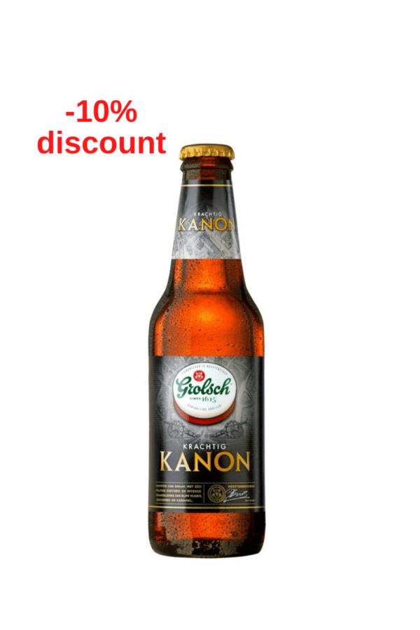 Grolsch Krachtig Kanon 11,6%, 300ml sticla, Import Olanda